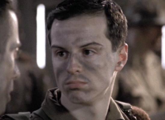 ジョン・ホール二等兵 : アンドリュー・スコット