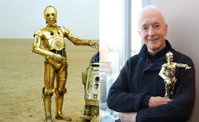 C-3PO=アンソニー・ダニエルズ