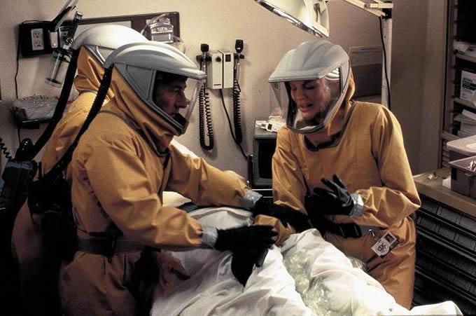 ウィルスが遺伝子の影響を受けて空気感染する病原体に変異