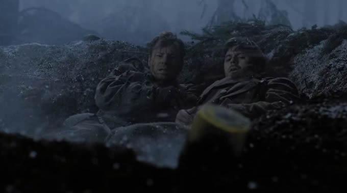 第7話 雪原の死闘