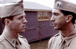 ディック・ウィンターズ中尉とソベル大尉